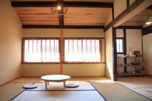 倉敷美観地区の『暮らしの宿てまり』館内