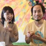 株式会社有鄰代表の犬養とアナウンサー奥田麻衣さん