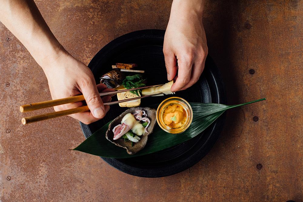 美観地区の日本料理店『Bricole(ブリコール)』の料理