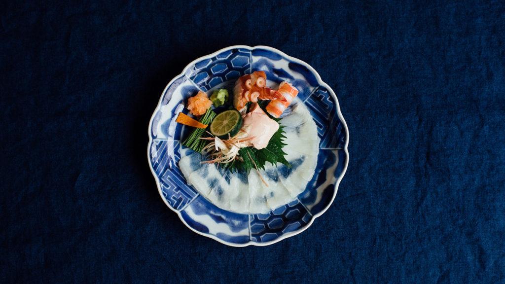 倉敷美観地区の日本料理店『Bricole(ブリコール)』料理写真
