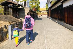 倉敷美観地区での散歩