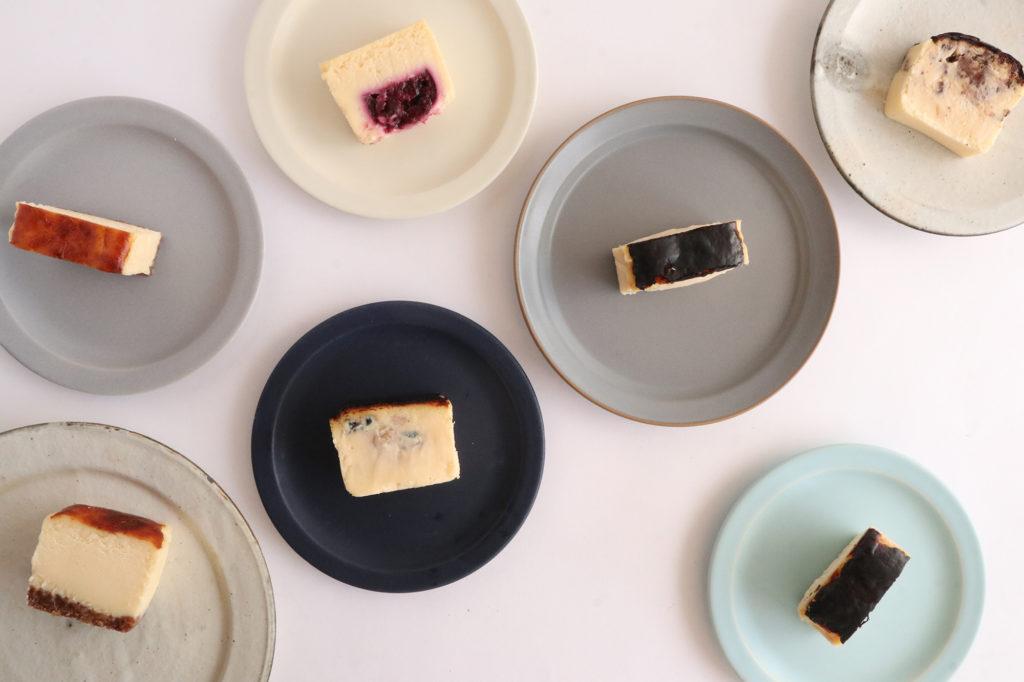 倉敷チーズケーキ隊のバスクチーズケーキ