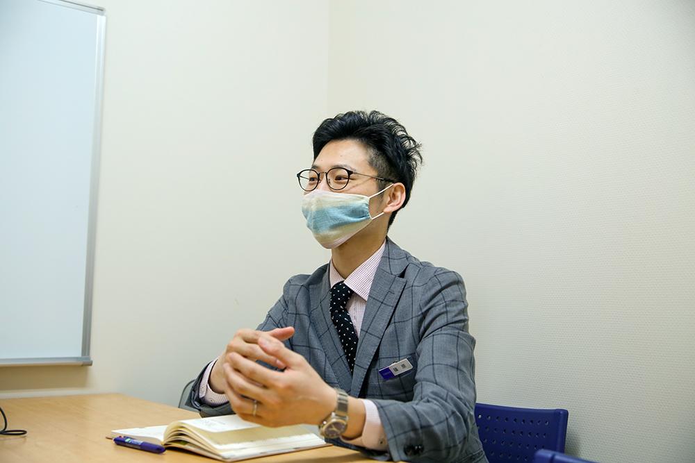 倉敷天満屋の篠原暢さん