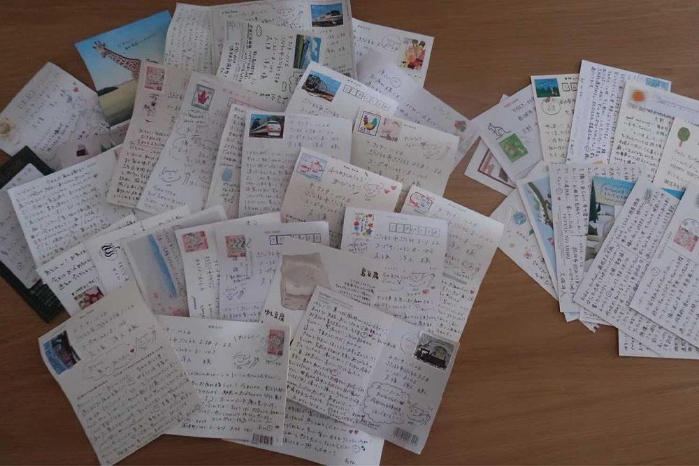 遠距離時のくぼちーの手紙