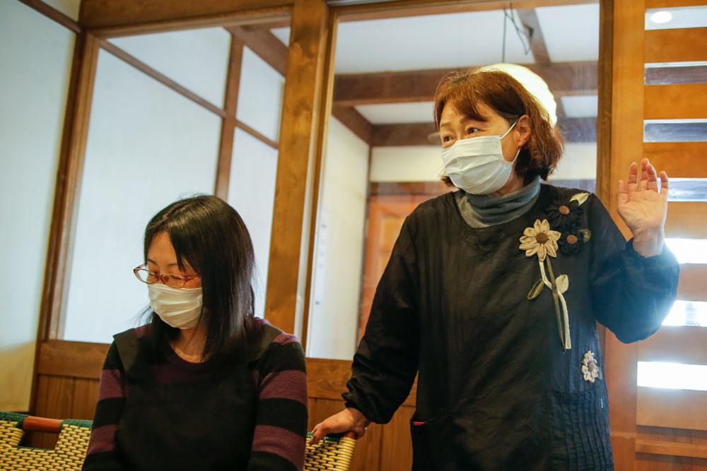 石川さんと石川さんの母