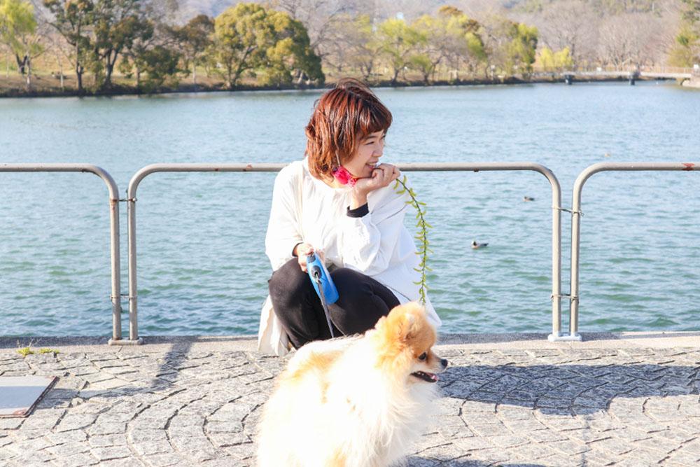 酒津公園とくぼちー